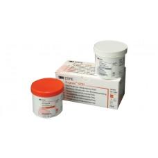3M ESPE Express STD putty package - 1 x 305ml base (orange), 1 x 305ml catalyst (white)