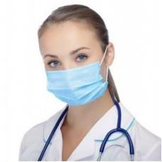 Harmony 3-Ply Face Mask fluid-resist - Blue