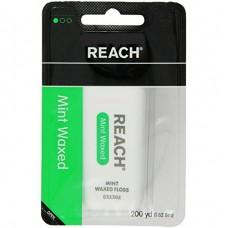 1 x Reach Dental Mint Waxed Floss 200 Yd. Refill with 1 x Floss Dispenser (Retail Package)