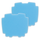 Jordco EndoRing® FileCaddy® Foam Insert Refills 12pk-Blue