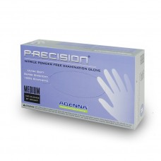 Adenna Precision Nitrile Exam Gloves ( Small ) , PF, 100/Box